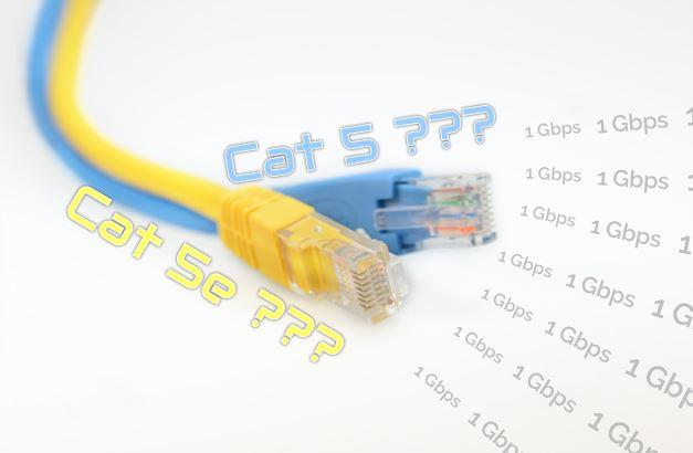 Alkalmas a Cat5 kábelezés 1Gb/s sebességre?