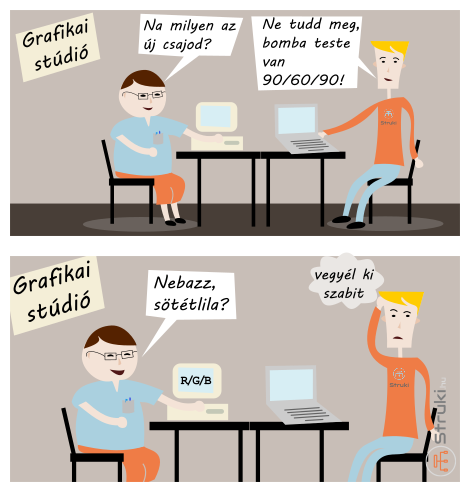 Grafikai stúdióban