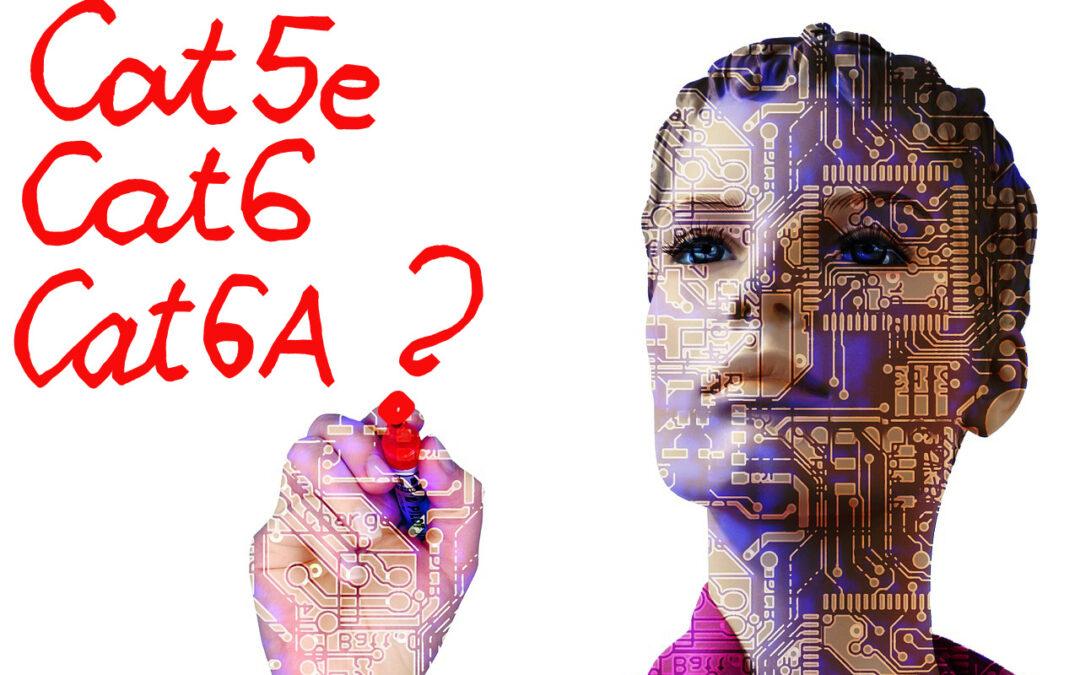 Mond, Te kit választanál? Cat5e, Cat6 vagy Cat6A?