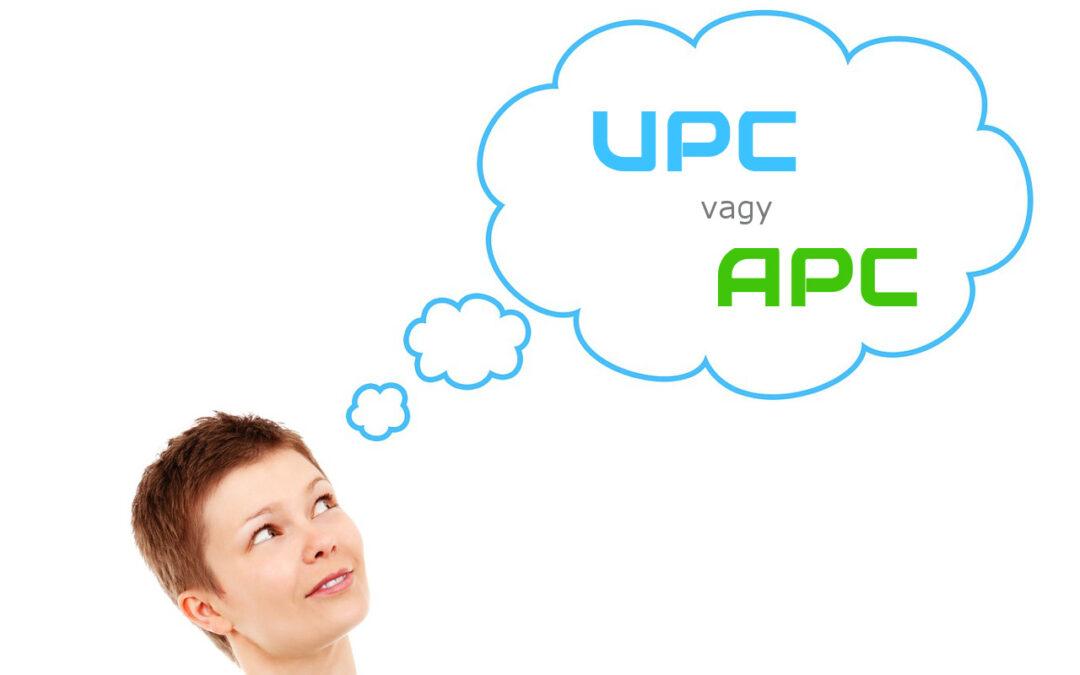 UPC vagy APC?