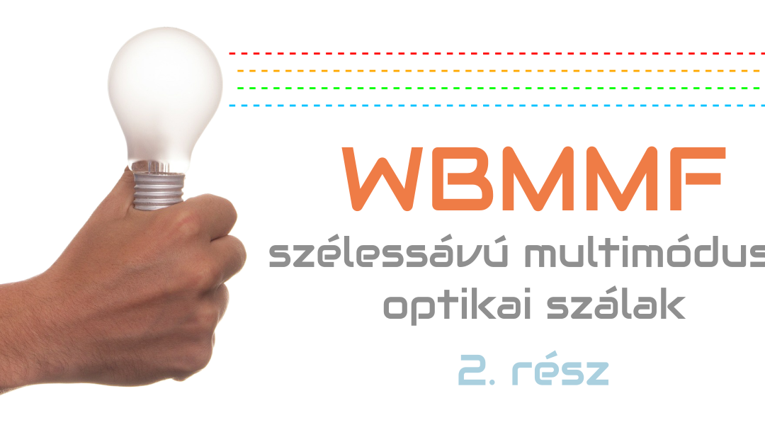Szélessávú multimódusú szálak (WBMMF) #2